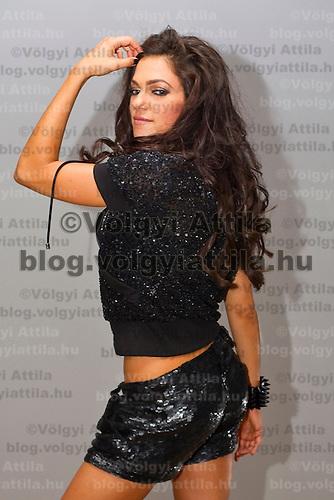 Calendar shooting of Hungarian celebrity Sylvi Bodi Hungary. Tuesday, 06. July 2010. ATTILA VOLGYI