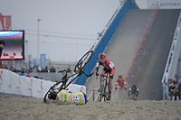 crash<br /> <br /> Elite Man's Race<br /> Belgian National CX Championships 2017