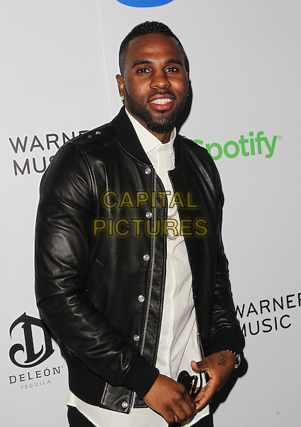 08 February 2015 - West Hollywood, Jason Derulo. Warner Music Group Annual GRAMMY Celebration Held at Chateau Marmont. <br /> CAP/ADM/FS<br /> &copy;FS/ADM/Capital Pictures