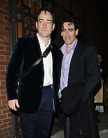 LONDON, ENGLAND - NOVEMBER 12: Matthew Macfadyen &amp; Stephen Mangan attends the &quot;Perfect Nonsense&quot; press night performance, Duke of York's Theatre, November 12, 2013 in London, England, UK.<br /> CAP/CAN<br /> &copy;Can Nguyen/Capital Pictures