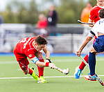 Canada vs USA at World League Round 2 in Chula Vista, California.