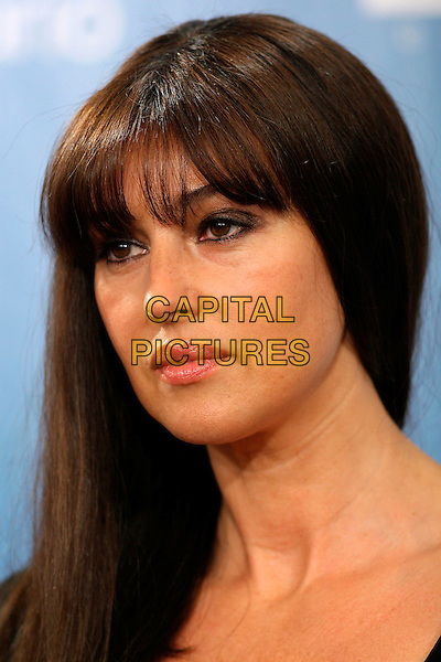 "MONICA BELLUCCI.""Le Deuxieme Souffle"" Press Conference held at  Sutton Place Hotel during the 32nd Annual Toronto International Film Festival,  Toronto, Ontario, Canada,.09 September 2007..portrait headshot fringe .CAP/ADM/BPC.©Brent Perniac/AdMedia/Capital Pictures."
