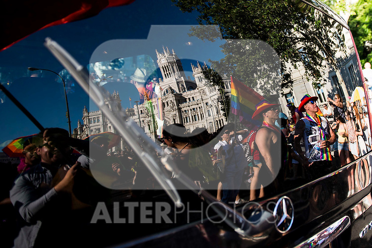 Protest Madrid Pride 2016. July 02. 2016. (ALTERPHOTOS/Borja B.Hojas)