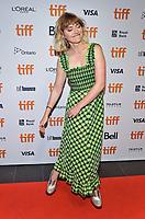 "05 September 2019 - Toronto, Ontario Canada - Imogen Poots. 2019 Toronto International Film Festival - ""Castle In The Ground"" Premiere held at TIFF Bell Lightbox. <br /> CAP/ADM/BPC<br /> ©BPC/ADM/Capital Pictures"