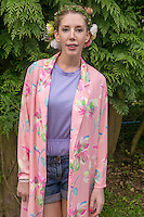 19th July 2014: Canadian Comedian &amp; panel show regular Katherine Ryan plays the Comedy Arena on the third day of the 9th edition of the Latitude Festival, Henham Park, Suffolk. <br /> Picture by Stuart Hogben