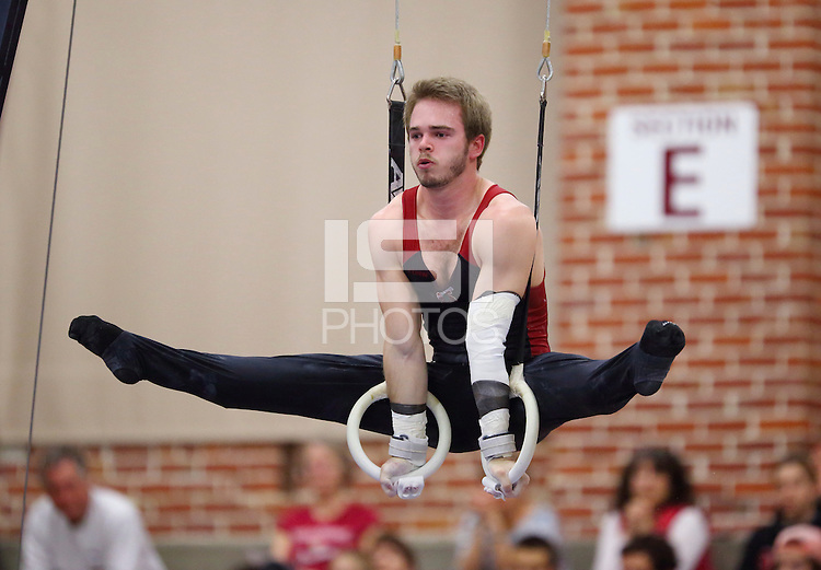 Stanford, CA; Saturday March 2, 2013: Men's Gymnastics, Collegiate Challenge.