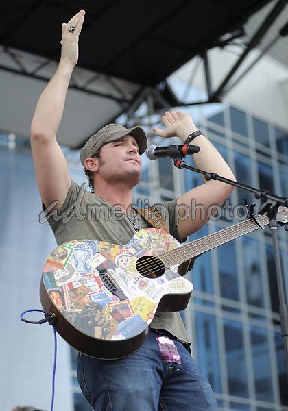 09 June 2010 - Nashville, TN - Jerrod Niemann. 2010 CMA Music Festival Chevy Stage at Bridgestone Arena. Photo Credit: Dara Farr/AdMedia