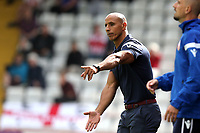 Stevenage manager Dino Maamria during Stevenage vs Exeter City, Sky Bet EFL League 2 Football at the Lamex Stadium on 10th August 2019