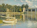 Claude Monet - The Bridge at Argenteuil (1874). Paris, musée d'Orsay.