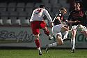 Michael Bostwick of Stevenage shoots for goal. - Stevenage v Milton Keynes Dons - npower League 1 - Lamex Stadium, Stevenage - 24th January 2012. © Kevin Coleman 2012