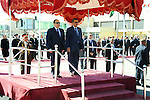 A handout picture made available by the Office of the Egyptian President shows Ethiopian Foreign Minister, Tedros Adhanom Ghebreyesus (R), and Egyptian President, Abdel Fattah al-Sisi (L), reviewing the honor guard shortly after his arrival in Addis Ababa, Ethiopia, 29 January 2015. According to local media reports al-Sisi is heading a delegation on a three day visit ahead of the African Summit in Ethiopia, which has enjoyed a tense relationship with Egypt as a result of the Grand Renaissance Dam project which could reduce the amount of Egypt's share of the Nile waters. apaimages / Egyptian Presidency