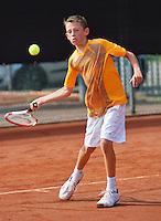 August 6, 2014, Netherlands, Rotterdam, TV Victoria, Tennis, National Junior Championships, NJK,  Jip van Assendelft (NED)<br /> Photo: Tennisimages/Henk Koster
