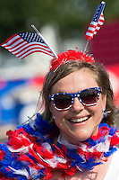 Photo before the match United States vs Paraguay, Corresponding to  Group -A- of the America Cup Centenary 2016 at Lincoln Financial Field Stadium.<br /> <br /> Foto previo al partido Estados Unidos vs Paraguay, Correspondiente al Grupo -A- de la Copa America Centenario 2016 en el Estadio Lincoln Financial Field , en la foto: Fans<br /> <br /> 11/06/2016/MEXSPORT/Osvaldo Aguilar.