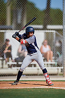 Alec Gonzalez during the WWBA World Championship at the Roger Dean Complex on October 18, 2018 in Jupiter, Florida.  Alec Gonzalez is a shortstop from Flossmoor, Illinois who attends Marian Catholic High School and is committed to Tennessee.  (Mike Janes/Four Seam Images)