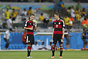 (L-R) Mesut Ozil, Miroslav Klose (GER), JULY 8, 2014 - Football / Soccer : FIFA World Cup Brazil 2014 Semi Final match between Brazil and Germany at the Estadio Mineirao in Belo Horizonte, Brazil. (Photo by AFLO) [3604]