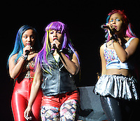 MIAMI, FL - AUGUST 31: OMG Girlz performs during Scream Tour with the Next Generation Pt. 2 at James L Knight Center on August 31, 2012 in Miami, Florida. (photo by: MPI10/MediaPunch Inc.) /NortePhoto.com<br />