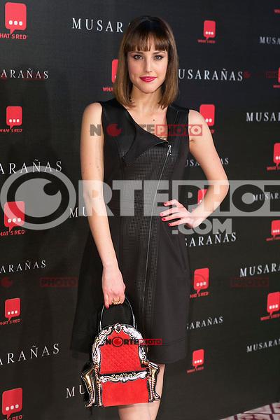 "Natalia De Molina attend the Premiere of the movie ""Musaranas"" in Madrid, Spain. December 17, 2014. (ALTERPHOTOS/Carlos Dafonte) /NortePhoto /NortePhoto.com"