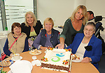 Bridget Enright, Sheila Foley and Sarah Flynn  with IWA CEO Rosemary Keogh and  Gretta Murphy at the opening of the Irish Wheelchair Association new Community Centre at The Reeks Gateway, Killarney on Friday.   Picture: macmonagle.com