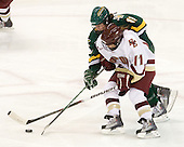 Caitlin Walsh (BC - 11), Emily Walsh (Vermont - 11) - The University of Vermont Catamounts defeated the Boston College Eagles 5-1 on Saturday, November 7, 2009, at Conte Forum in Chestnut Hill, Massachusetts.