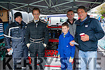 Rally<br /> -------<br /> At the service halt last Sunday in Lieberr car park were L-R  Leon seedier,Jack O'Shea,Darragh&amp;ray Lynch and Florian Seidler all Glenbeigh.