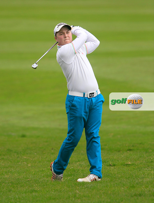 Connor Sutton (Malahide) during the Headfort Scratch Cup, Kells, Co Meath 21/4/13.Picture: Thos Caffrey www.golffile.ie...