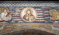 Mosaici nella Basilica di Sant'Apollinare in Classe, poco fuori Ravenna.<br /> Mosaics in the Basilica of Sant'Apollinare in Classe, on the outskirts of Ravenna.<br /> UPDATE IMAGES PRESS/Riccardo De Luca