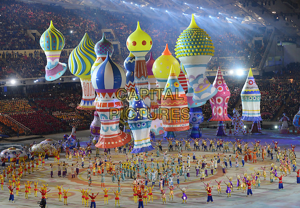 Feb. 7, 2014 - Sochi, Russia - Opening Ceremony with the theme ''Dreams of Russia'' for the Sochi 2014 Olympic Winter Games at Fisht Stadium<br /> CAP/PER<br /> &copy;PersonaStars/CapitalPictures