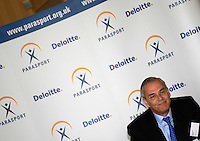 Queens Club, GREAT BRITAIN,  Martin SCICLUNA [Deloitte], during the  press Conference to announce the joint initiative between British Paralympic Association and Deloitte  of 'www.Parasport.org.uk' online information service, on Thur's.  03.05.2007. London. [Credit: Peter Spurrier/Intersport Images]