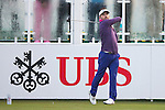 Jbe Kruger of South Africa tees off the first hole during the 58th UBS Hong Kong Golf Open as part of the European Tour on 09 December 2016, at the Hong Kong Golf Club, Fanling, Hong Kong, China. Photo by Vivek Prakash / Power Sport Images