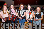 Taking part in the Scór na nÓg competition at Foilmore Community Centre on Sunday last were l-r; Ellen O'Sullivan, Laura O'Connor, Fionúr O'Connor, Shauna O'Grady & Aoibhín Collins representing Foilmore GAA Club.