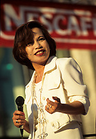 Montreal (Qc) CANADA - 1997 File Photo -<br /> <br /> Filipina singer Charito at Montreal Jazz Festival<br /> <br /> -Photo (c)  Images Distribution