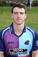 Toby Roland-Jones - Middlesex County Cricket Club Press Day at Lords Cricket Ground, London - 08/04/13 - MANDATORY CREDIT: Rob Newell/TGSPHOTO - Self billing applies where appropriate - 0845 094 6026 - contact@tgsphoto.co.uk - NO UNPAID USE.