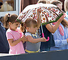 Mia Tindall Tries Out Her Brolly