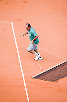 28-5-08, France,Paris, Tennis, Roland Garros, Court maintenance