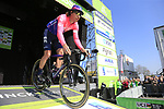 Mitchell Docker (AUS) EF Education First at sign on before the 2019 E3 Harelbeke Binck Bank Classic 2019 running 203.9km from Harelbeke to Harelbeke, Belgium. 29th March 2019.<br /> Picture: Eoin Clarke | Cyclefile<br /> <br /> All photos usage must carry mandatory copyright credit (© Cyclefile | Eoin Clarke)