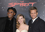 Samuel L. Jackson,Scarlett Johansson Reynolds & Gabriel Macht attends The Lionsgate L.A. Premiere of The Spirit held at ChineseTheatre in Hollywood, California on December 17,2008                                                                     Copyright 2008 Debbie VanStory/RockinExposures