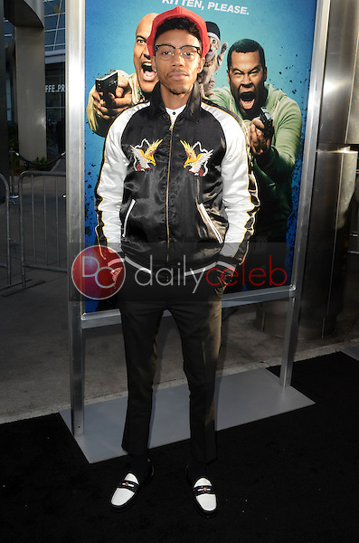 "Darrell Britt-Gibson<br /> at the ""Keanu"" Los Angeles Premiere, Arclight, Hollywood, CA 04-27-16<br /> David Edwards/Dailyceleb.com 818-249-4998"