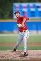 Philadelphia Phillies pitcher Francisco Morales (29) delivers a pitch during an Instructional League game against the Toronto Blue Jays on October 7, 2017 at the Englebert Complex in Dunedin, Florida.  (Mike Janes/Four Seam Images)