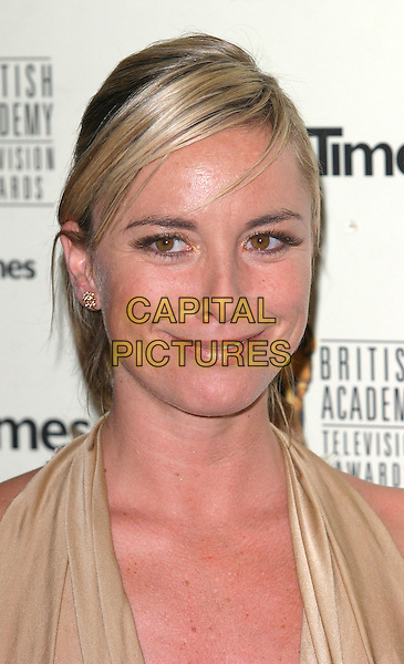 TAMZIN OUTHWAITE.Bafta TV Awards Held At The Grosvenor House Hotel, London.April 18th, 2004.headshot portrait.www.capitalpictures.com.sales@capitalpictures.com.©Capital Pictures.