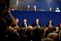 Roma, 29 Maggio 2018<br /> Ignazio Visco;Salvatore Rossi;Fabio Panetta;Luigi Federico Signorini;Valeria Sannucci<br /> Relazione annuale Banca d'Italia