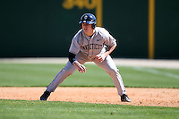 February 20, 2009:  Outfielder John Andreoli (23) of the University of Connecticut during the Big East-Big Ten Challenge at Jack Russell Stadium in Clearwater, FL.  Photo by:  Mike Janes/Four Seam Images
