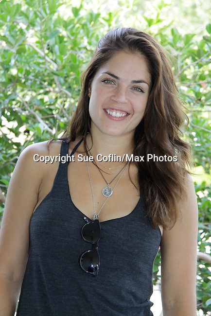 Kelly Thiebaud - General Hospital at 15th Soapfest 2014 painting party on May 24, 2104 gathered together to do paintings with guests and the proceeds went to charity - The weekend of events is held on Marco Island, Florida.  (Photo by Sue Coflin/Max Photos)