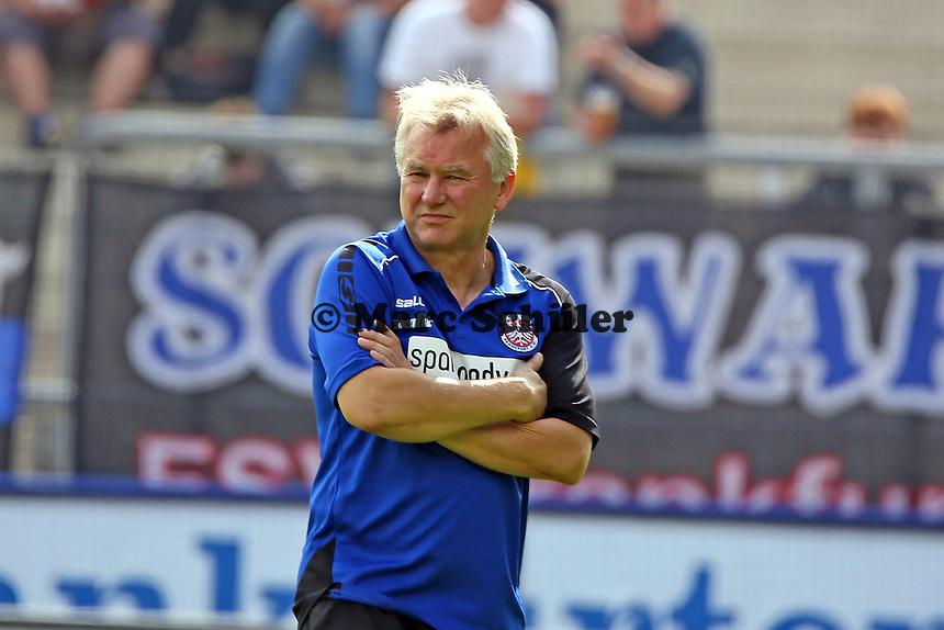 Trainer Benno Möhlmann (FSV) - FSV Frankfurt vs. VfL Bochum, Frankfurter Volksbank Stadion