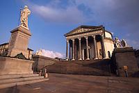 klassizistische Kirche Gran Madre di Dio in Turin (Torino) aus dem 19.Jh., Piemont, Italien