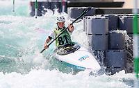 Georgina Collin. (AUS). Oceania Canoe Slalom Championships, Whero Whitewater Park, Auckland, New Zealand, 1st February 2020. Photo: Simon Watts/www.bwmedia.co.nz