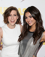 WESTWOOD, CA - April 13: Eden Sher, Victoria Justice, At Premiere Of Swen Group's &quot;The Outcasts&quot; At The Landmark Regent  In California on April 13, 2017. <br /> CAP/MPIFS<br /> &copy;MPIFS/Capital Pictures