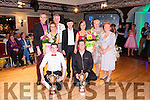 Joint winners of Fealside Strictly Come Dancing are Jamie Lee & Paul Noonan and Irene Harnett & Mike ( Stretch) Scannell pictured with Mayor Liam Galvin, Michael Healy Ray T.D. , Marion Harnett ( Judge), Angela O' Rourke ( Judge) & compere Richard Lynch.