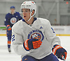 Bode Wilde #52 plays during the final scrimmage of New York Islanders Mini Camp at Northwell Health Ice Center in East Meadow on Saturday, June 30, 2018.