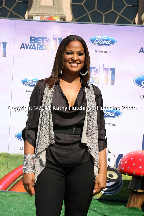 LOS ANGELES - JUN 26:  Laila Ali arriving at the 11th Annual BET Awards at Shrine Auditorium on June 26, 2004 in Los Angeles, CA