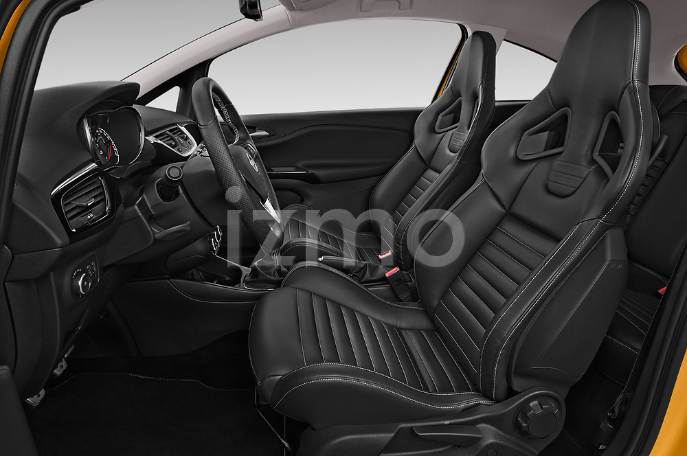 Front seat view of 2019 Opel Corsa GSI 3 Door Hatchback Front Seat  car photos
